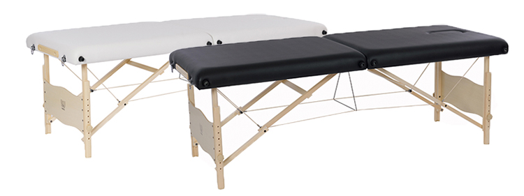 Table de massage Weelko Plenic noir et blanc